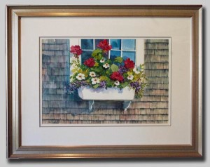 Artist Nancy St. Lawrence - Window Box
