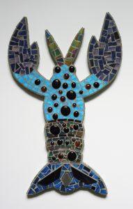 Lobster in Blue
