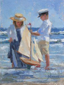 setting sails 9x12