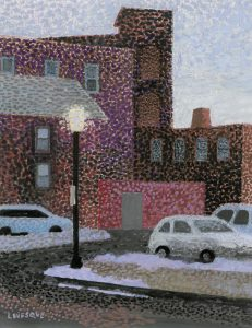 Artist Priscilla Levesque Twilight on Jackson St